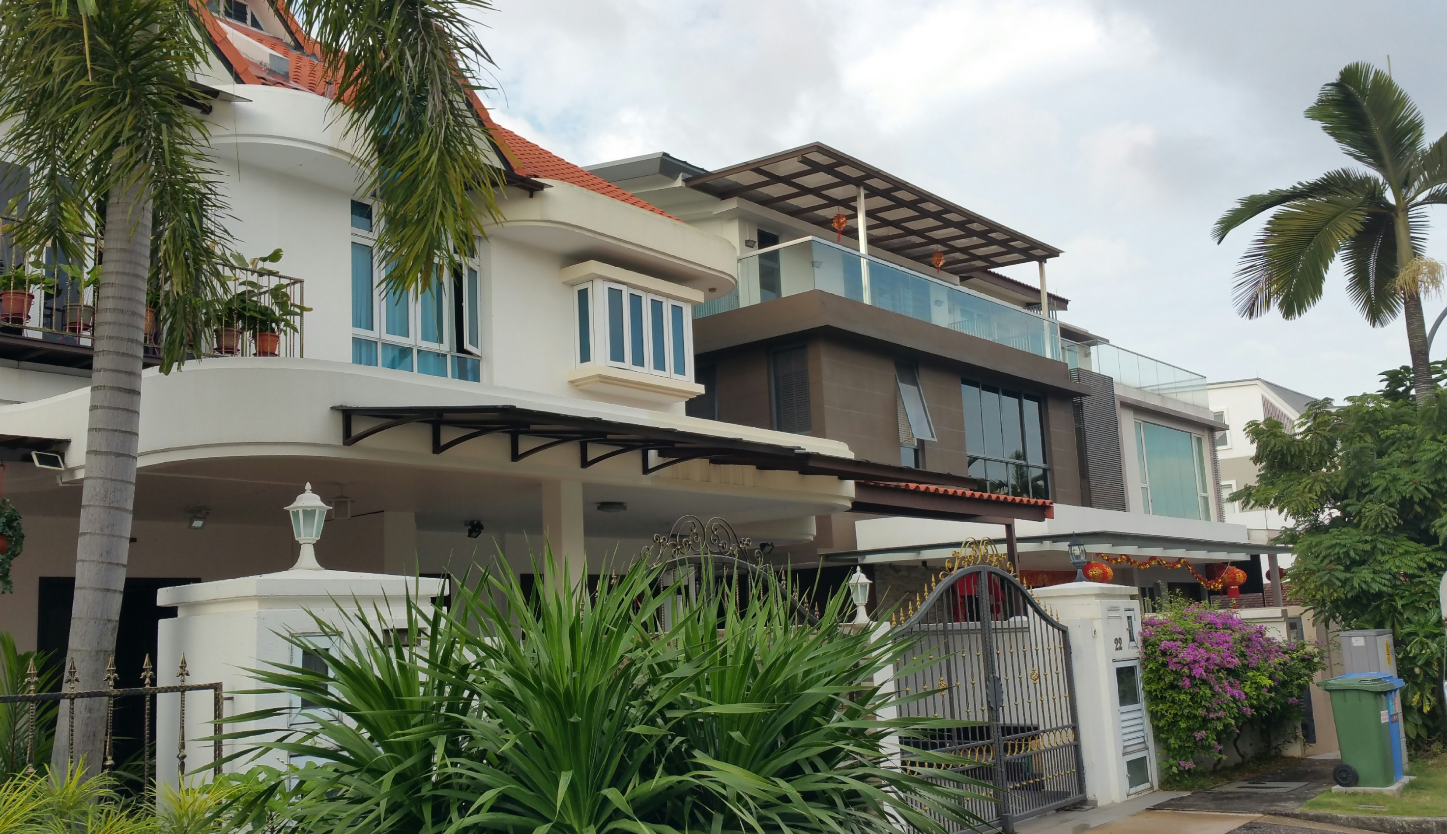Terrace house renovation wuxing construction pte ltd for Terrace house singapore